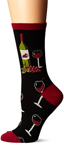 Socksmith Women's Wine Scene Black 1 Sock ()