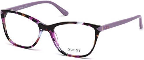 Guess GU2673 Eyeglass Frames - Violet Frame, 53 mm Lens Diameter GU267353083