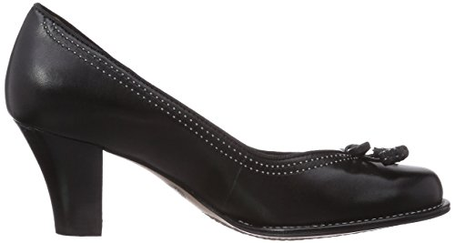 Clarks Bombay Lights 20306743 - Zapatos de vestir de cuero para mujer Azul (Navy Suede)