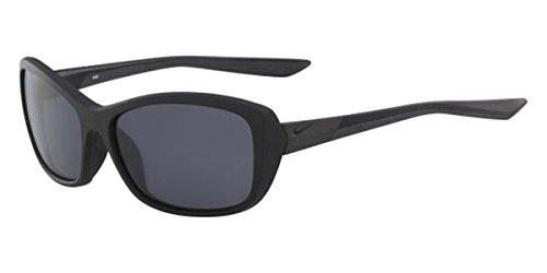 Nike Sonnenbrille (NIKE FLEX FINESSE R EV0995) BLACK W/GREY BLACK MIRROR LENS