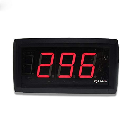- XIEXIE Countdown Timer 1.8 inch 3 Digits 999 Electronic Counter with Remote Control Function