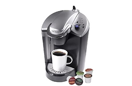 Keurig K145 OfficePRO Brewing System : I followed the instructions to the letter for draining out the plastic odor and it works great! I deliberately ordered through C