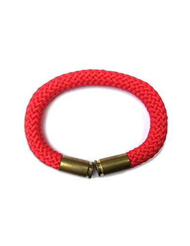 Derivative Bullet Shell Bracelet (Red)
