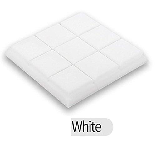 Kintaz Wall Sticker, Clearance Sale! Acoustic Foam Sound Proof Foam Acoustic Panels Nosie Dampening Foam Studio Soundproofing Padding (White, 30x30x5cm) by Kintaz