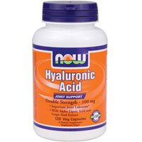 Now Foods - Hyaluronic Acid 100 mg - 120 Veg Capsule (Pack of 5) by Now Foods