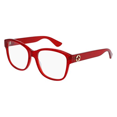 Eyeglasses Gucci GG 0038 O- 004 004 RED / - Gucci Glasses Red