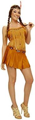 Disfraz barato de India sexy para mujer. Talla M-L: Amazon.es ...