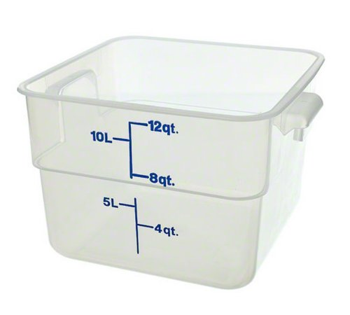 Cambro (12SFSPP190) 12 qt Polypropylene Food Storage Container - CamSquare