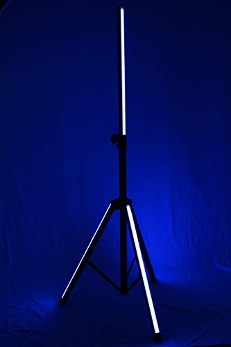 VocoPro Rechargeable LED Lighted Speaker Stand (GloPole-LS)