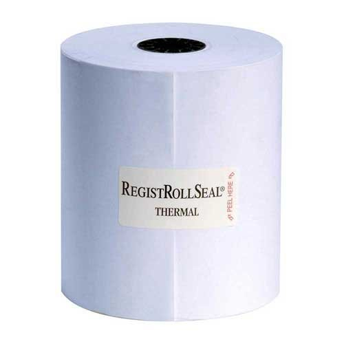 National Checking Blue Thermal Paper 1 Ply Registroll, 3.13 inch x 230 Feet -- 50 rolls per case. by National Checking