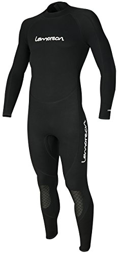 Lemorecn Mens Wetsuits Jumpsuit Neoprene 3/2mm Full Body Diving Suit - Wetsuits Mens