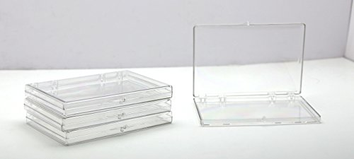 Clear Hinged Plastic Box 6