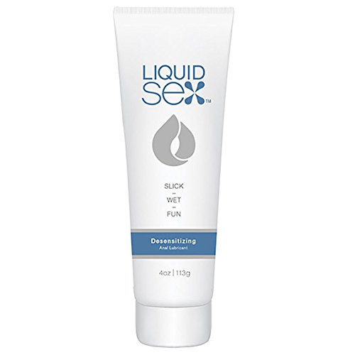 Liquid Sex Desensitizing Anal Lube - 4 oz. Tube