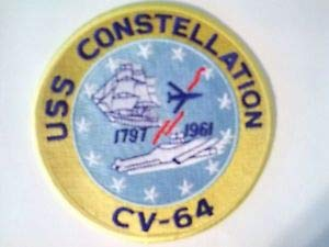 - USS Constellation Aircraft Carrier America's Flagship CV-64 Patch 4