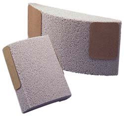 Norton 86A Surface Grinding Segment, Aluminum Oxide, 11-1/4'' Width, 6'' Height, 2-1/4'' Thickness, Grit 24-E (Pack of 5)