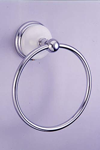 Kingston Brass BA1114C Victorian 6-Inch Towel Ring, Polished ()