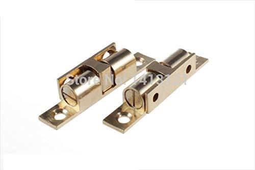 100 pieces 60mm brass cabinet Catch metal furniture Hardware part door catch door closer kitchen DIY household ball detent by Kasuki (Image #1)