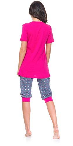 2d6e29154fcfbb DN Nightwear - Traje de dormir para mujer (para tiempo de lactancia) Rosa  ...