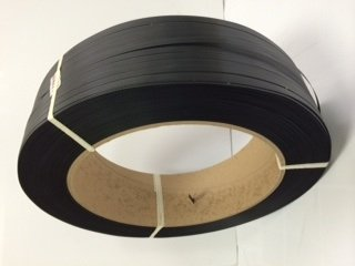 Poly 1/2'' 7,200 Ft Polypropylene Strapping, 600lb Tensile Strength, Black, 16x6