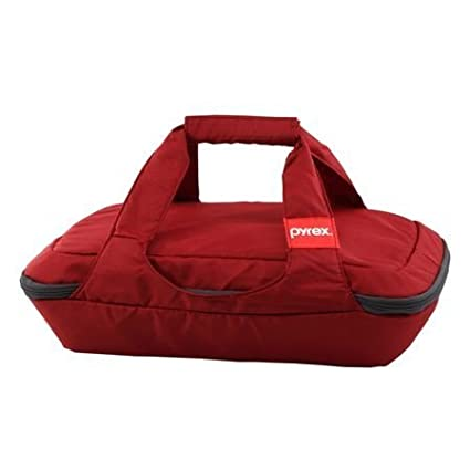 Pyrex® Portables® 3 Quart Oblong Red Bag SYNCHKG071571