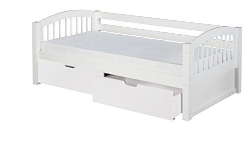 Camaflexi C203_DR Day Bed, Twin, White ()