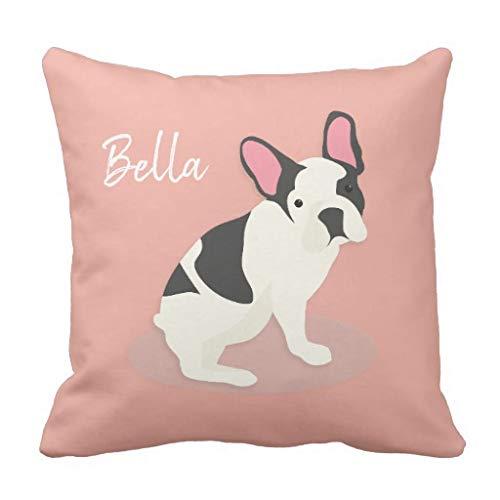 CELYCASY - Funda de cojín Decorativa con diseño de Bulldog ...