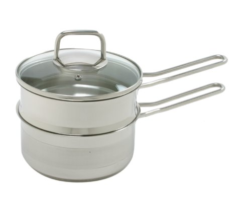 Norpro KRONA 1.5 Quart Stainless Steel Double Boiler