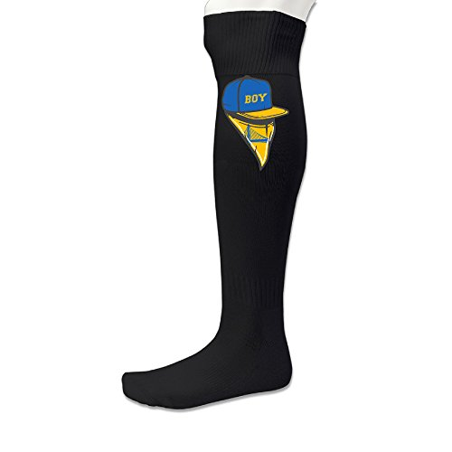 Men's #30 GS Baby-Faced Assassin With Scarf Soccer Socks Black -
