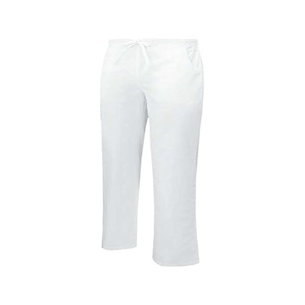 MISEMIYA Pantalón Cintura Baja con Cordón Uniforme Laboral Clinica Hospital Dentista Limpieza Vestuario Medico utilidades de Trabajo Unisex Adulto 1