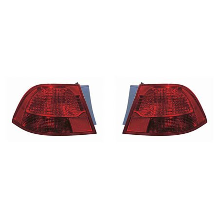 CarLights360: Fits 2009 2010 KIA MAGENTIS Tail Light Pair Driver and Passenger Side W/Bulbs Replaces KI2804102 KI2805102