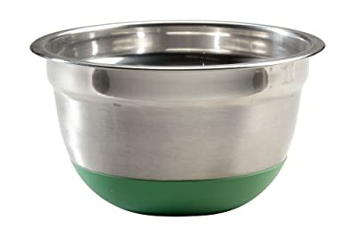 ExcelSteel Stainless Steel Non Skid Base Mixing Bowl