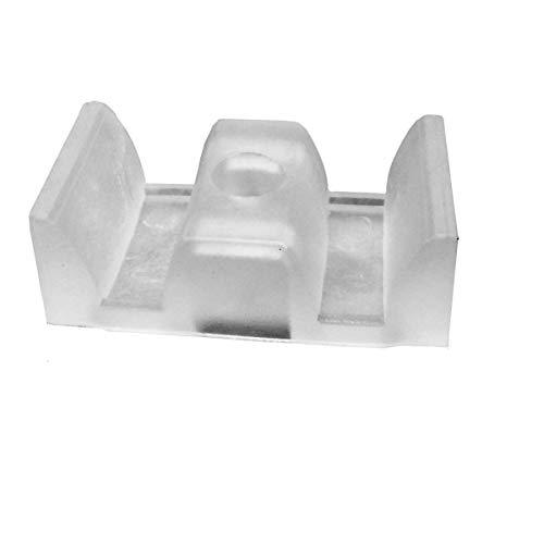Sliding Shower Door Opaque Bumpers - (Set of 2)