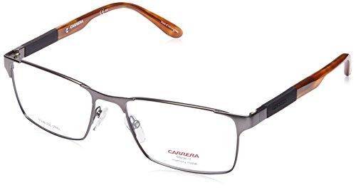 Carrera 8822 Eyeglass Frames CA8822-0TZZ-5417 - Matte Ruthenium Havana Frame, Lens Diameter 54mm, (Dark Ruthenium Matte)
