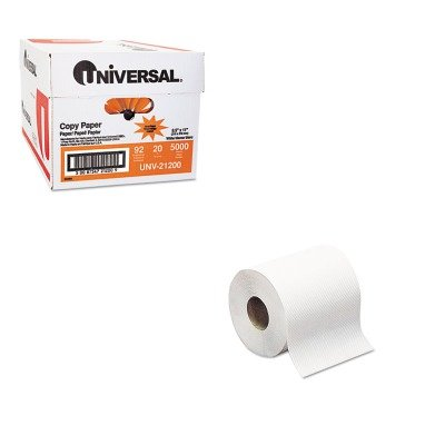 KITSCARB350AUNV21200 - Value Kit - Tork Hard-Roll Towels (SCARB350A) and Universal Copy Paper (UNV21200)
