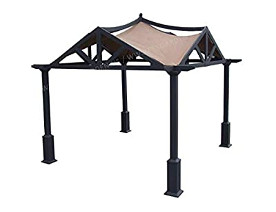 APEX GARDEN Replacement Canopy Top for Lowe's 10 ft x 10 ft Gazebo #GF-12S039B / GF-9A037X