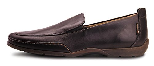 Mephisto Men's Edlef Loafers Shoes, Dark Brown Smooth, Size - 8
