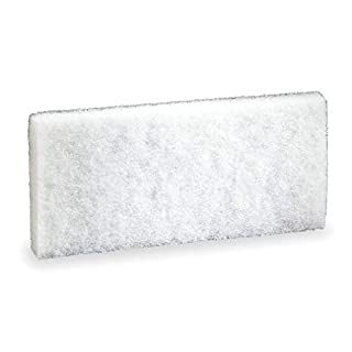 "3M 8440 Doodlebug Cleaning Pad, 4.6"" x 10"" - 5-Pack, White"