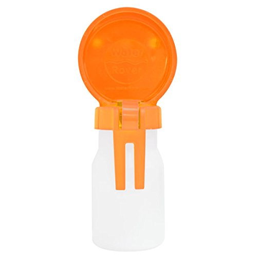Water Rover Smaller 3-Inch Bowl and 8-Ounce Bottle, Orange
