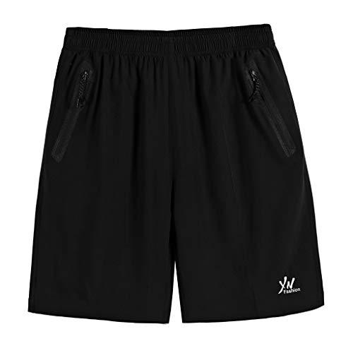 [해외]Giulot 남자의 클래식 맞는 탄성 허리 짧은-남자의 경량 운동 실행 운동 반바지 주머니 / Giulot Men`s Classic Fit Elastic Waist Short-Men`s Lightweight Workout Running Athletic Shorts with Pockets
