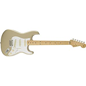 Fender 0141102344 Classic Player '50s Stratocaster Maple Fingerboard Electric Guitar – Shoreline Gold