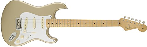 Fender Classic Player '50s Stratocaster Electric Guitar, MapleFingerboard, Shoreline Gold
