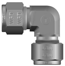 Tylok CBC-LOK Union Elbow, 316 Stainless Steel - 5/8
