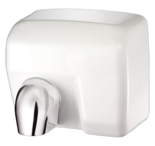 1-17 Conventional Series Commercial Hand Dryer, White (Palmer Fixture White Metal)