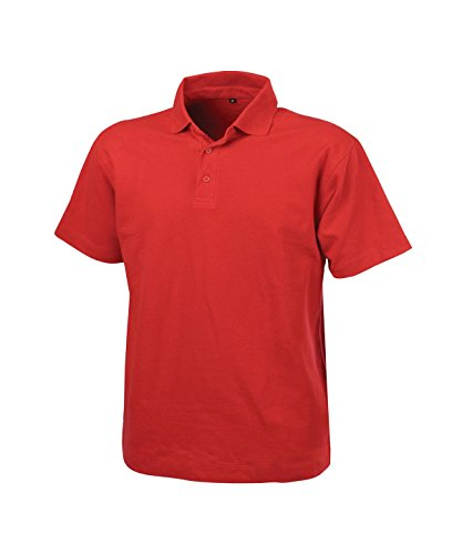 POLO LEON CO (100 % Baumwolle) ROT XS