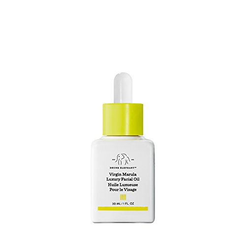 (Drunk Elephant Virgin Marula Luxury Facial Oil - Gluten-Free and Vegan Anti-Aging Skin Care and Face Moisturizer (30ml/1 fl oz))