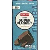 Alter Eco Organic Super Blackout Dark Chocolate Bar, 2.65 Ounce - 12 per case.