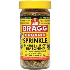 Bragg All Natural Herb & Spice Seasoning Sprinkle -1.5 Ounce, 12 Pack