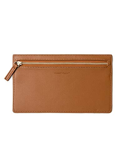 (russell+hazel Camel Vegan Leather Pencil Case)