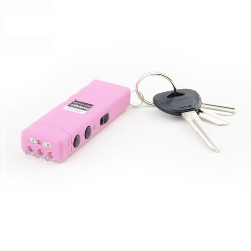 Worlds Smallest Guard Dog Hornet Keychain Stun Gun with LED Flashlight, 6,000,000 Volts