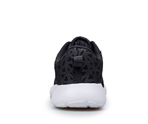 Ladies Mountaineer Wearable Athletic Breathable Outdoors Sports Anti Climbing Leisure Weave Flying amp; Slip Women's Huaishu Girls Breathability Shoes Shoes Black Mesh n78Cn1vS
